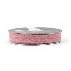 Лента Ажурная Розовый  1,8 см * 45 м, 1 шт.