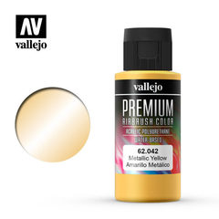 Premium color 60ml. 042-metallic yellow
