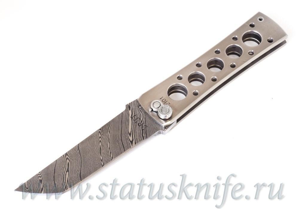 Нож Уракова А.И. Brut Брут Дамаск Титан