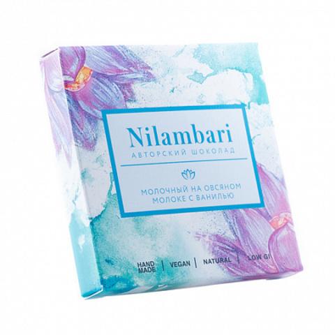Nilambari шоколад на овсяном молоке без сахара 65 г