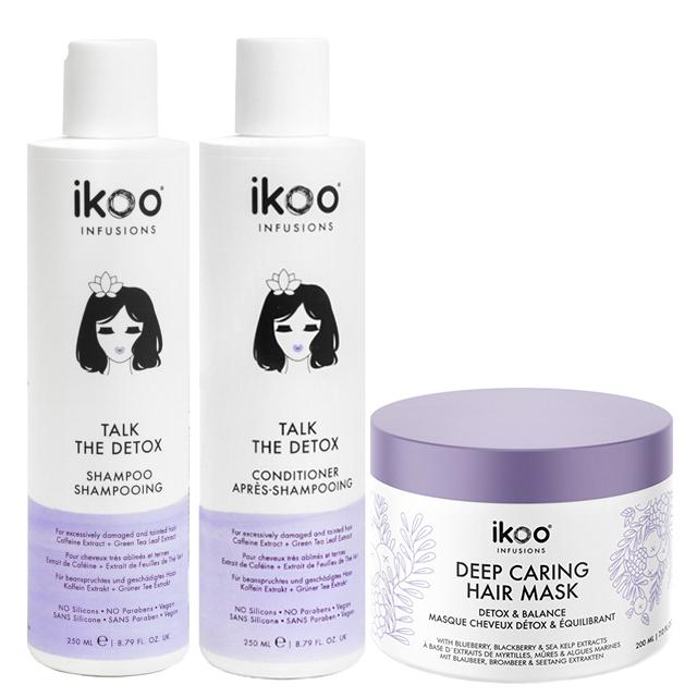 Набор для полной перезагрузки волос ikoo