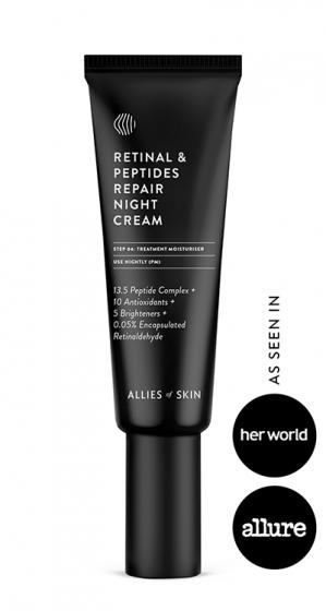 Ночной крем для лица Allies of Skin Retinal + Peptides repair night cream 50 ml