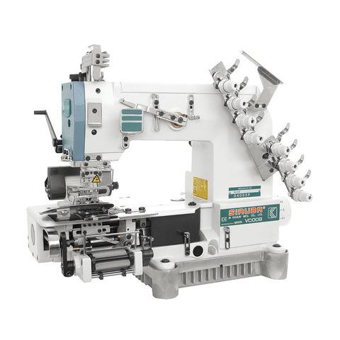 Четырехигольная поясная машина цепного стежка  с сервомотором SIRUBA VC008-04095P/VWLB/FH/DVU1-0   Soliy.com.ua