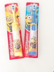 Электрическая зубная щетка  Colgate  детская (Миньоны 2) + зубная паста в подарок
