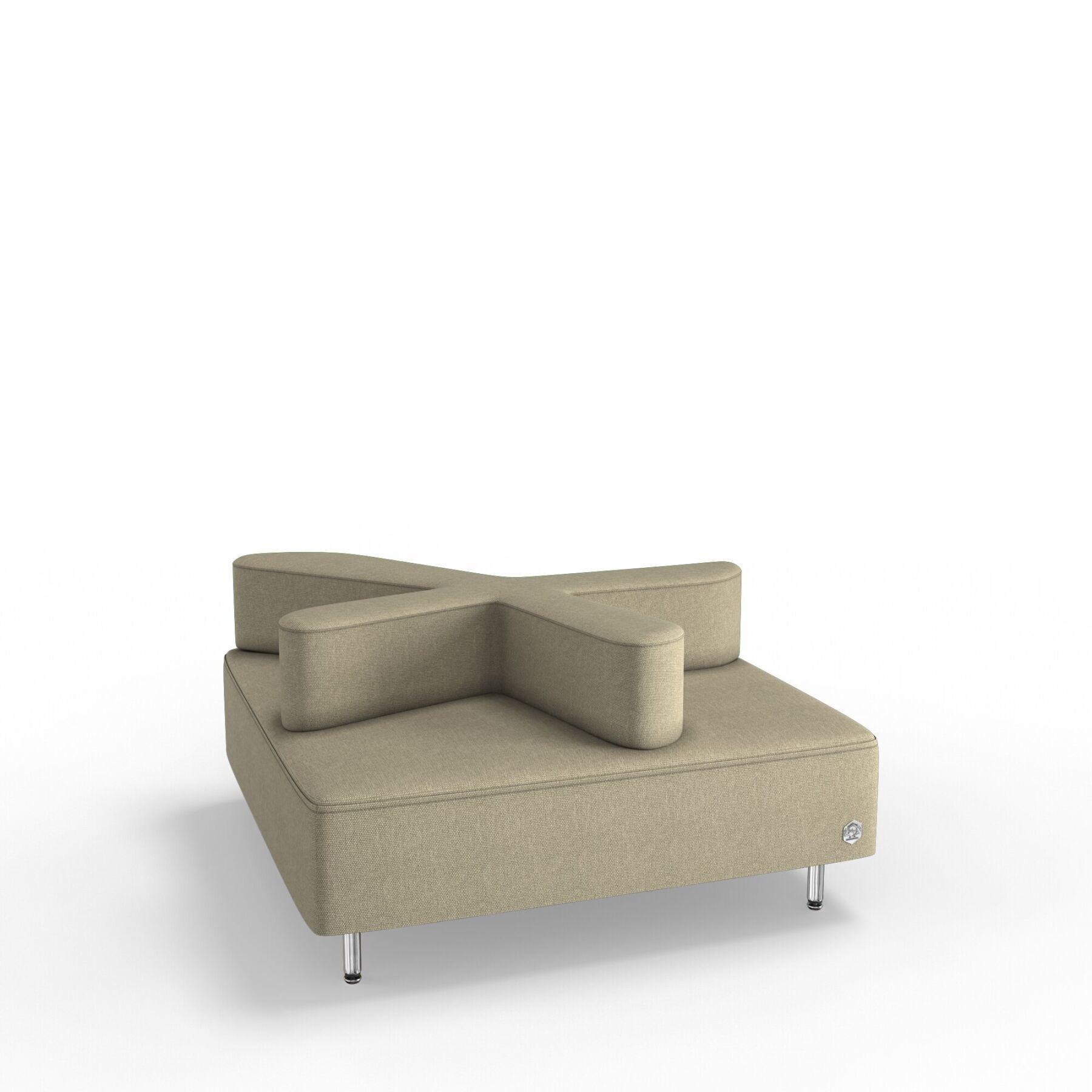 Четырехместный диван KULIK SYSTEM STAR Ткань Целый