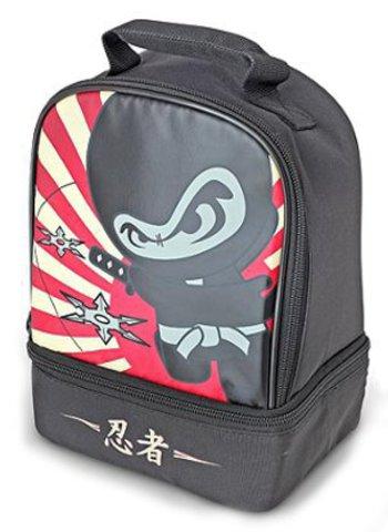 Термосумка детская Thermos Ninja Dual (черная)