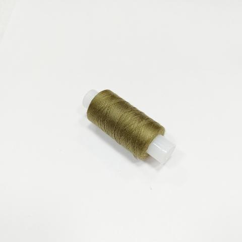 Нитки швейные 40ЛШ. Цвет Темно-оливковый