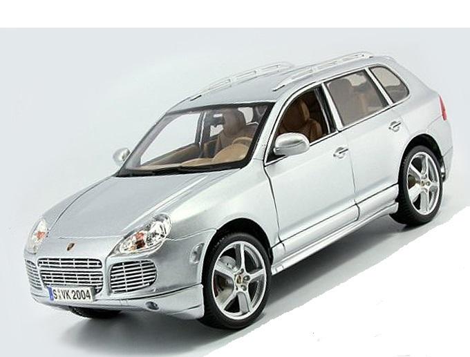 Коллекционная модель Porsche Cayenne Exclusive Turbo 2003 Silver