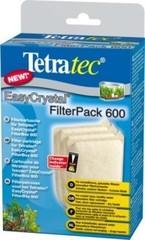 Фильтрующие картриджи без угля , Tetra EC 600, для внутреннего фильтра EasyCrystal 600