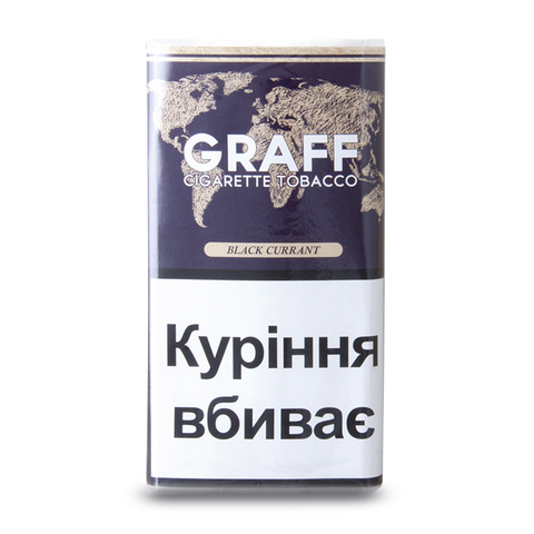 Табак для самокруток Graff Black Currant