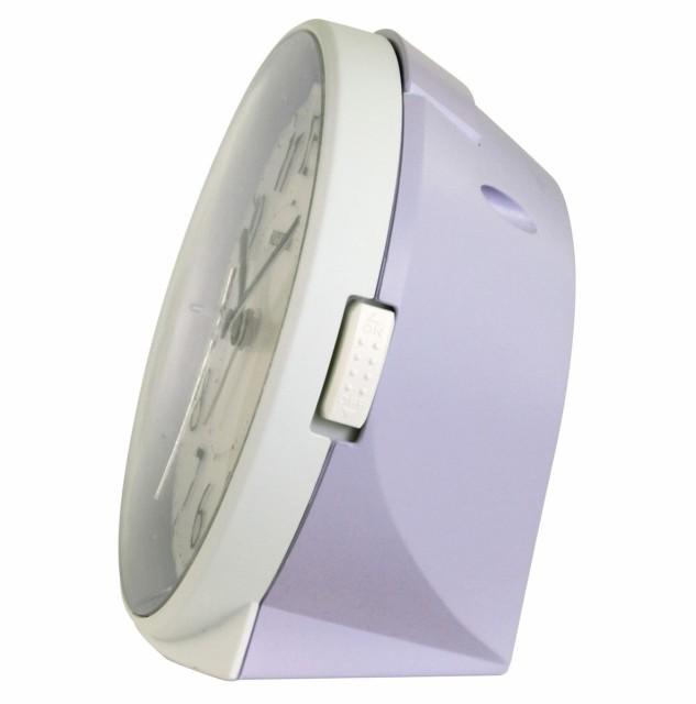 Настольные часы-будильник Rhythm 8RE669SR12