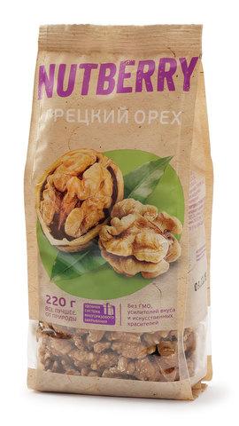 NUTBERRY Грецкий орех 220 г