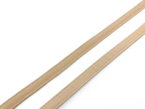 Ворсовая тесьма для корсетных пластин бежевая (цв. 126) 50 метров
