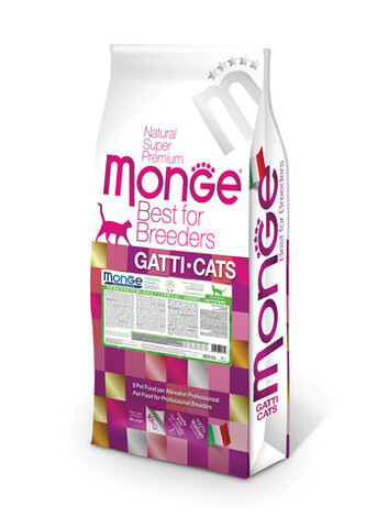 Купить Monge Cat Monoprotein Adult Rabbit корм для взрослых кошек с кроликом 10 кг