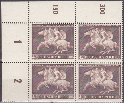 1941 № 780 **MNH-угловая кварта