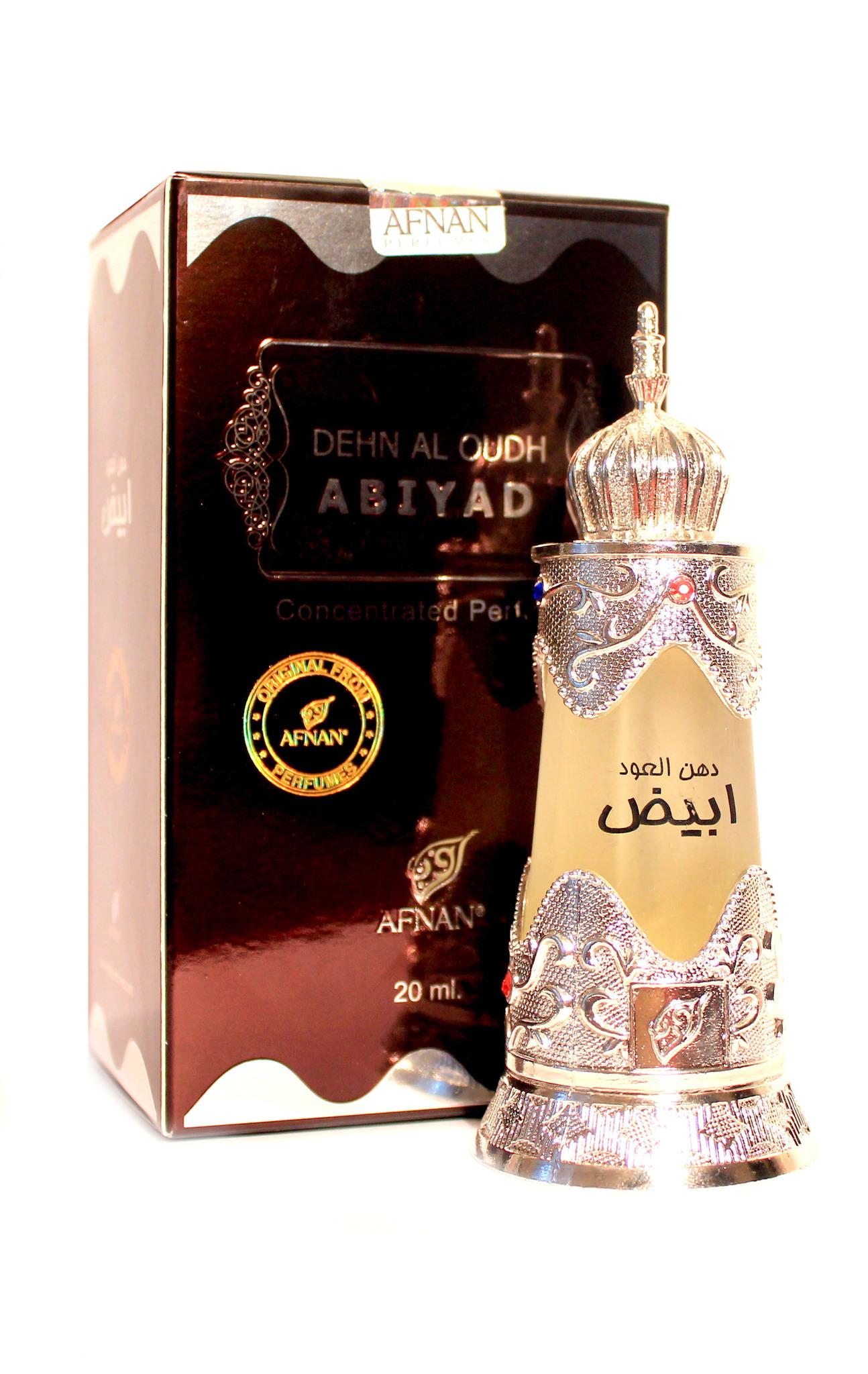 Пробник для Dehn Al Oudh Abiyad Дан Аль Уд Абияд 1 мл арабские масляные духи от Афнан Парфюм Afnan Perfumes
