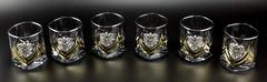 Подарочный набор стаканов для виски «Власть», Триколор, фото 1