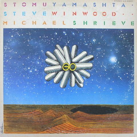 Stomu Yamashta, Steve Winwood, Michael Shrieve / Go (LP)