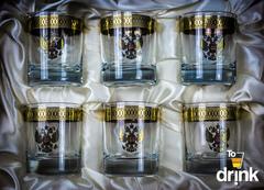 Подарочный набор из 6 хрустальных стаканов для виски «Министерский», 290 мл, фото 1