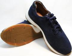 Синии кроссовки мужские летние Faber 1957134-7 Blue