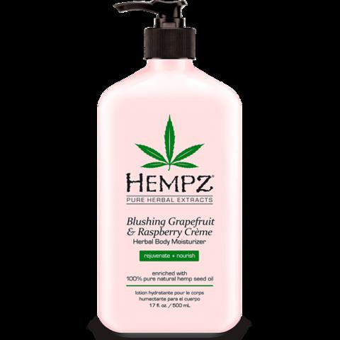 Молочко для тела увлажняющее  Грейпфрут & Малина / Hempz Blushing Grapefruit&Raspberry Moisturizer