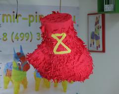 Пиньята боксерская перчатка пиньята на заказ , изготовление за 1 день  mir-pinata.ru
