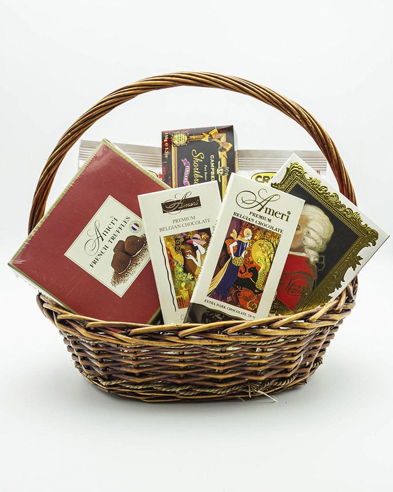 Подарочная корзина для мужчины Почитателю