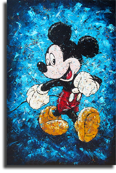 """Постеры Постер """"Микки Маус Арт"""" п0500.png"""