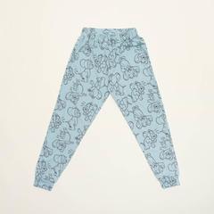 Детские женские брюки пижамные WB E21K-94D101