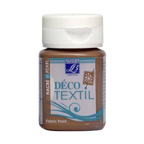Краска по ткани Lefranc&Bourgeois DECO TEXTIL 50 мл 741 перламутровый медный