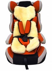 Накидка из натурального меха для детского автокресла (Овчина, короткий ворс, цельная шкура, Австралия)