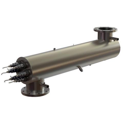 Ультрафиолетовая установка УФУ-500, с ультразвуком, 500 м3/ч, AISI-321, 40мДж/см2 XENOZONE