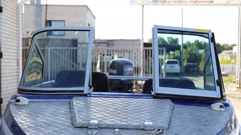 Ветровое стекло «Элит-А» для лодки «Крым-3»