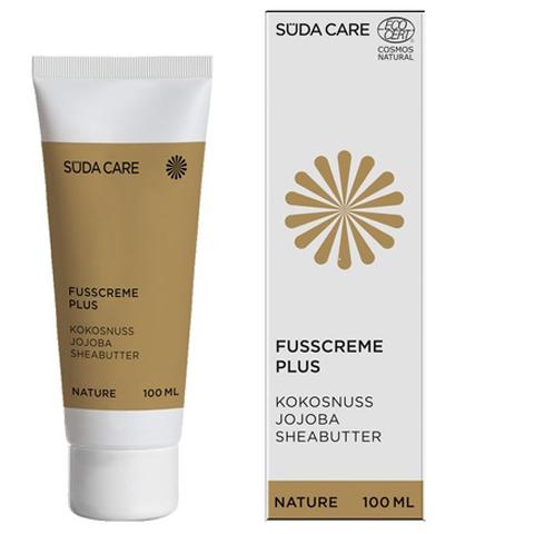 SUDA Органическая линия Nature: Защитный крем для ног Plus с экстрактом куркумы и маслом клюквы (Fußcreme Plus), 100мл