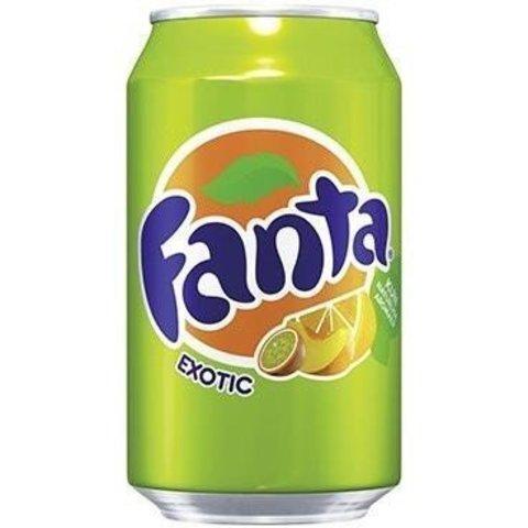 Fanta Exotic Фанта Экзотический микс 0,330 л