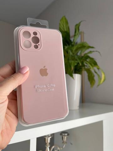 iPhone 12 Mini Silicone Case Full Camera /pink sand/