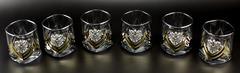 Подарочный набор стаканов для виски «Власть», Триколор, фото 3