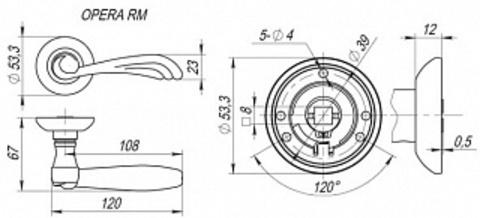 OPERA RM SN/CP-3 ID Схема