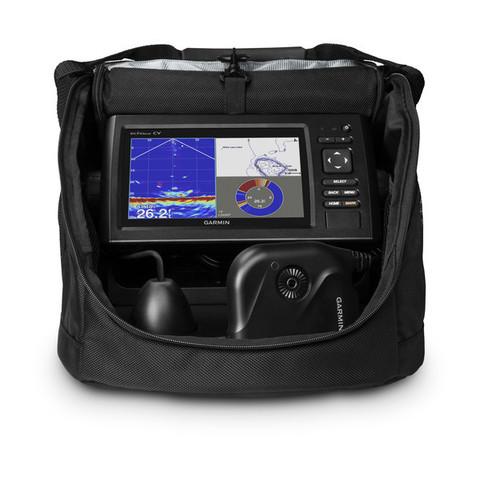 Эхолот-картплоттер   ECHOMAP CHIRP 72CV Panoptix PS22 IceBundle Зимний набор