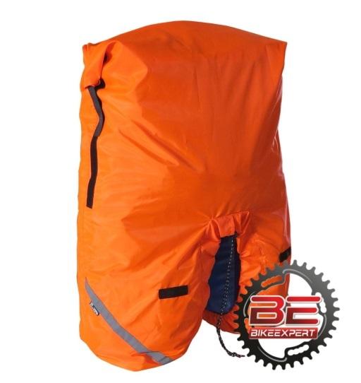 Чехол на велоштаны Course 60-100 литров оранжевый