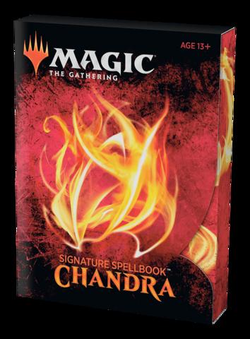 Signature Spellbook: Chandra (английский)