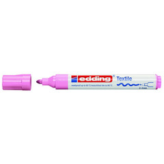 Маркер для текстиля Edding E-4500 розовый (толщина линии 3 мм)