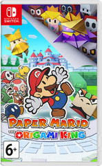 Paper Mario: The Origami King (Nintendo Switch, английская версия)
