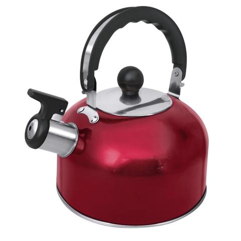 Чайник со свистком HOME ELEMENT HE-WK1602 красный рубин