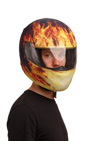 Мотонашлемник moto integral Fire