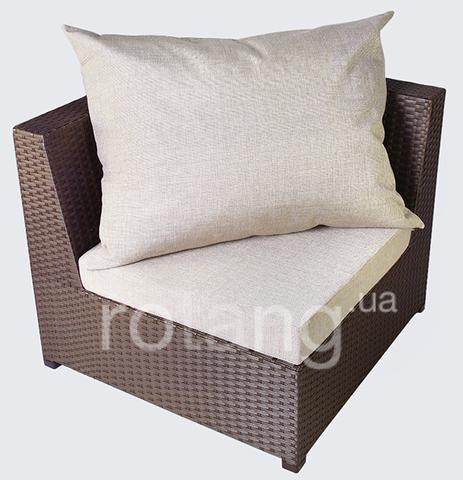 """Кутовий елемент """"Ібіца"""" з подушками"""