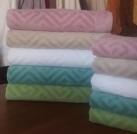 Махровое полотенце для лица GREEK Buddemeyer 48х90