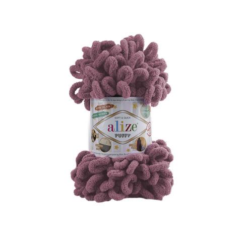 Купить Пряжа Alize Puffy Код цвета 28 Пыльная роза | Интернет-магазин пряжи «Пряха»