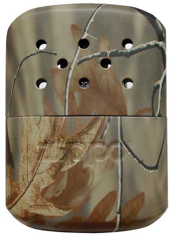 Каталитическая грелка Zippo, сталь с покрытием REALTREE®, камуфляж, матовая,  66x13x99 мм