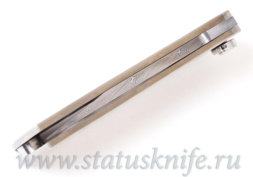 Нож Уракова А.И. Brut Брут Дамаск Титан - фотография